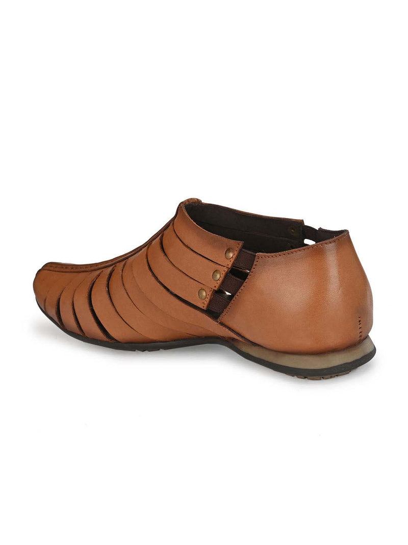 Pavers - 7810 Tan Leather Sandals