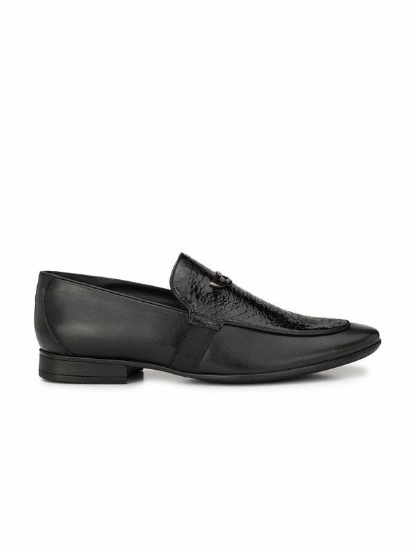 Pistol - 7903 Black Leather Shoes