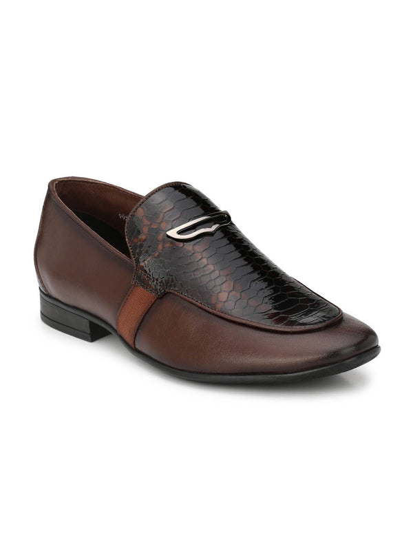 Pistol - 7903 Brown Leather Shoes