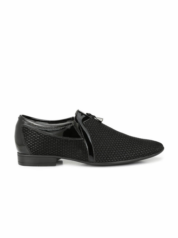 Pistol - 7905 Black Leather Shoes