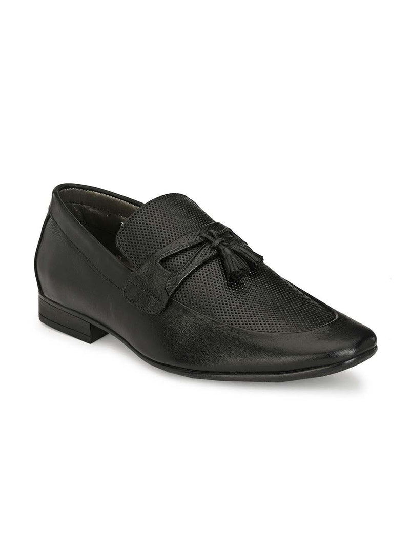 Pistol - 7911 Black Leather Shoes