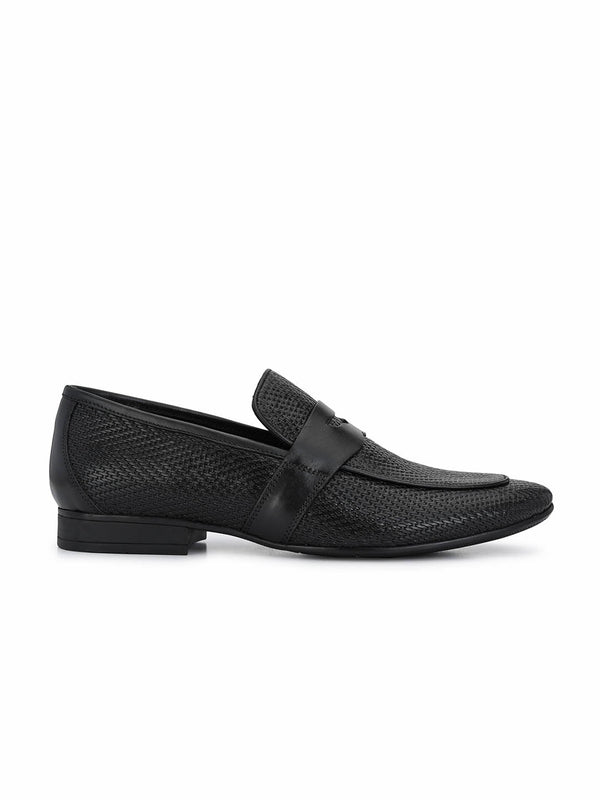 Pistol - 7920 Black Leather Shoes