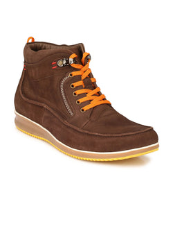 Ecco - 802 Brown Casual Leather Boots