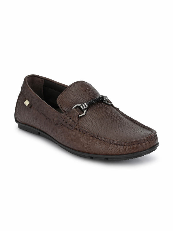 Foster - 8304 Brown Leather Loafers