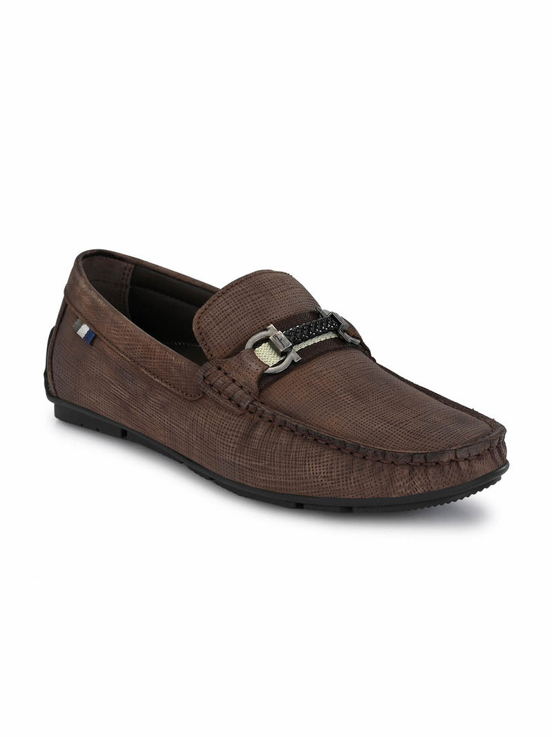 Foster - 8305 Brown Leather Loafers