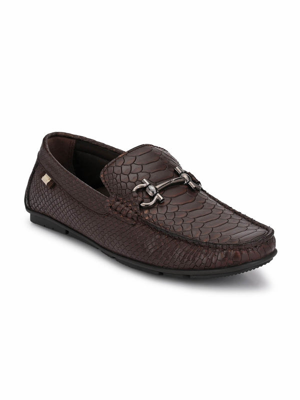 Foster - 8306 Brown Leather Loafers