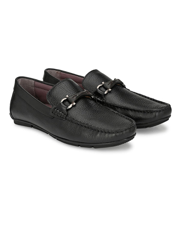 Hitz Black LOAFERS LOAFERS