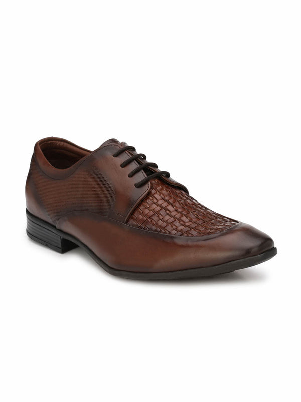 Play-2 8408 Brown Leather Shoes