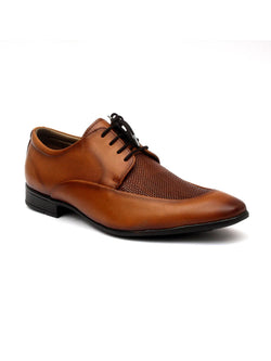 Play-2 8408 Tan Leather Shoes