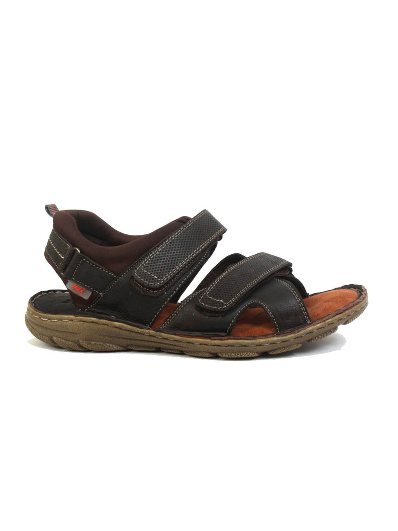Router - 8504 Brown Leather Sandals