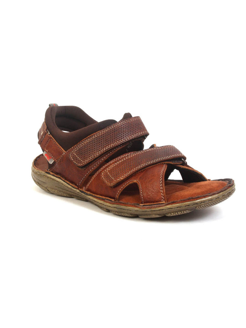 Router - 8504 Tan Leather Sandals