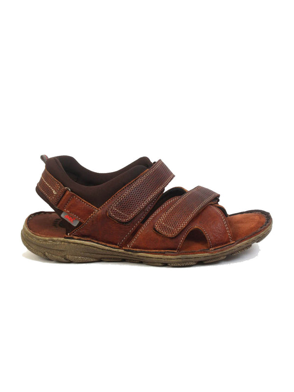 Men Tan Leather comfort Sandals