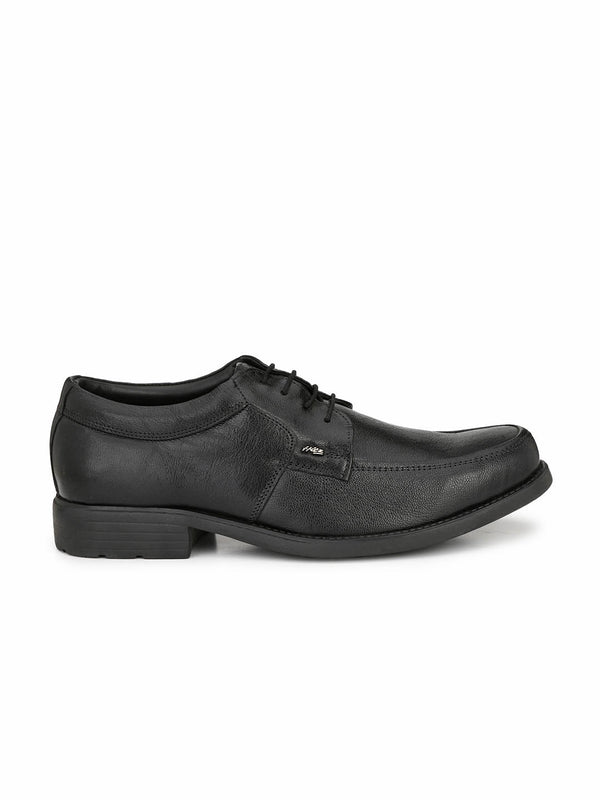 Hitz Men Black Formal Leather Shoes