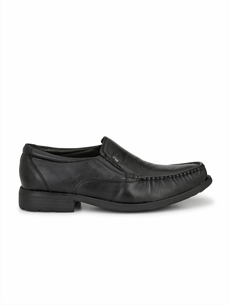 Diplomat - 8853 Black Formal Leather Shoes
