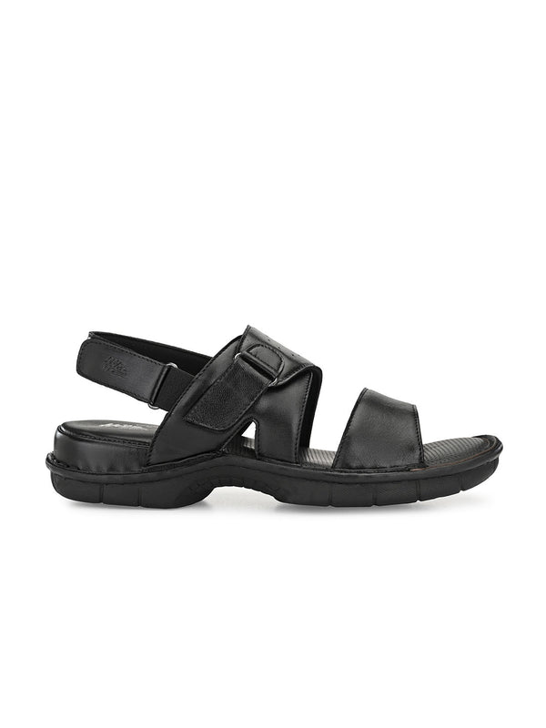 Hitz Emiliano Black Sandals For Men