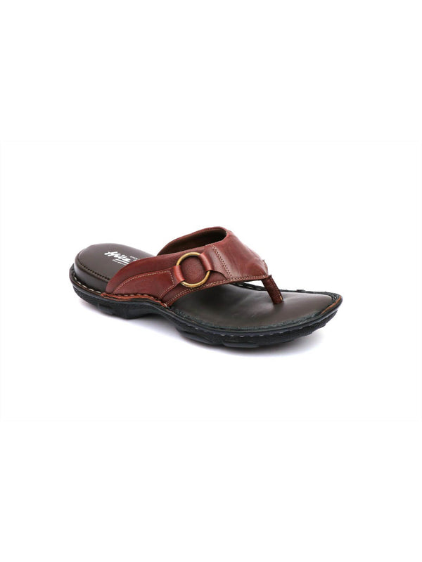 New Dragon - 9228 Cherry Leather Slippers