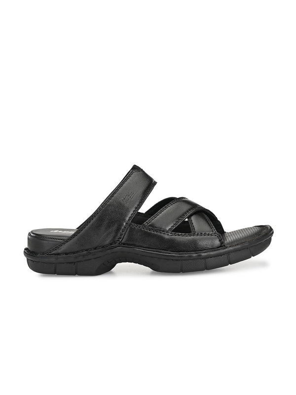 Hitz Luca Black Sandals For Men