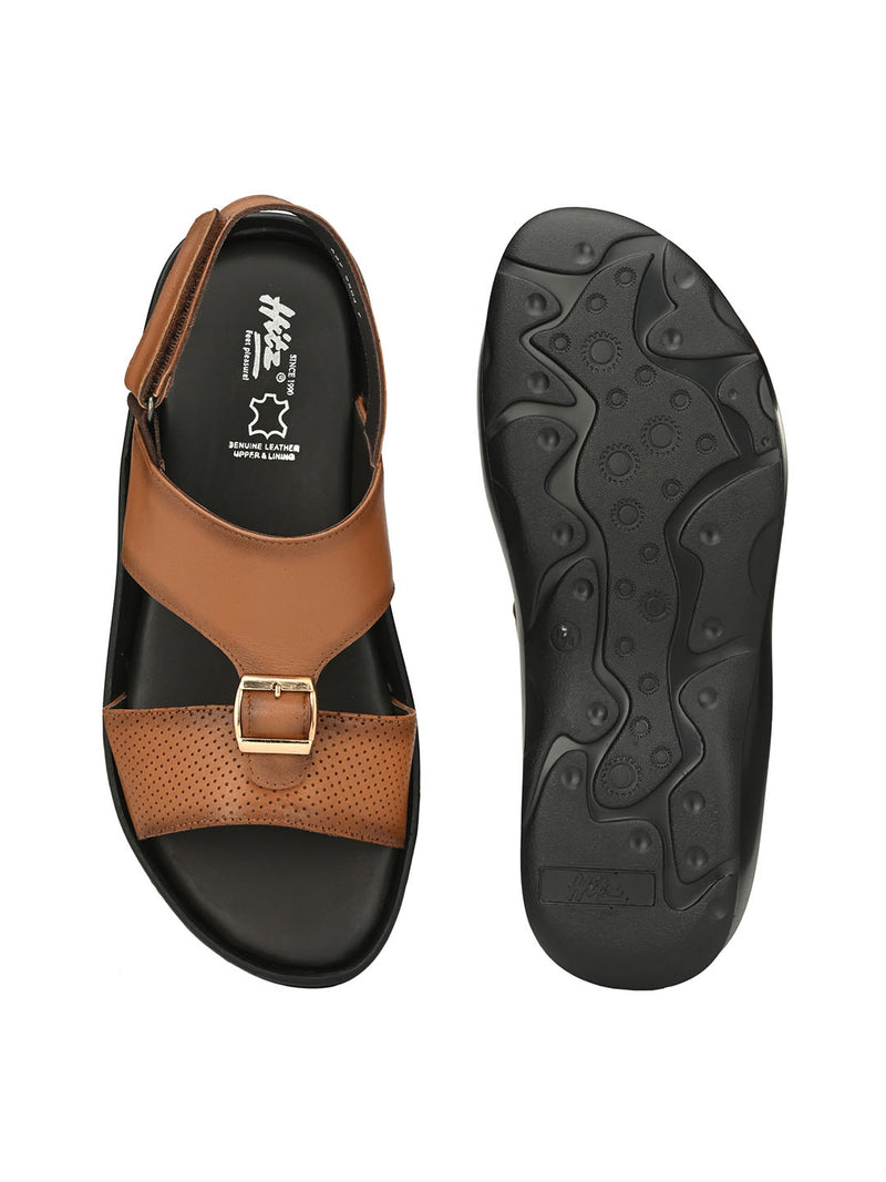 HITZ Egor Tan Sandals For Men