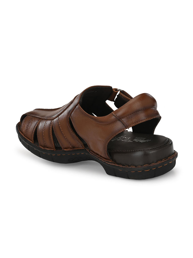 Hitz Antonio Tan Sandals For Men