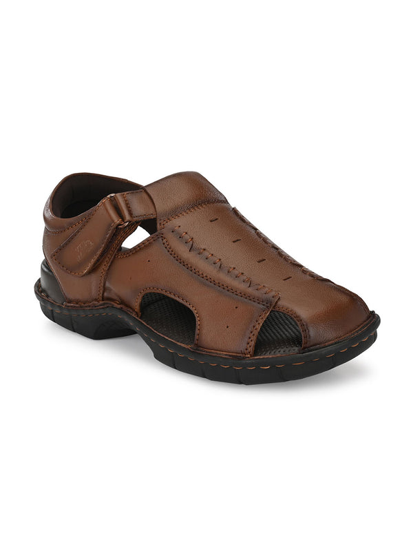 Hitz Angelo Tan Sandals For Men
