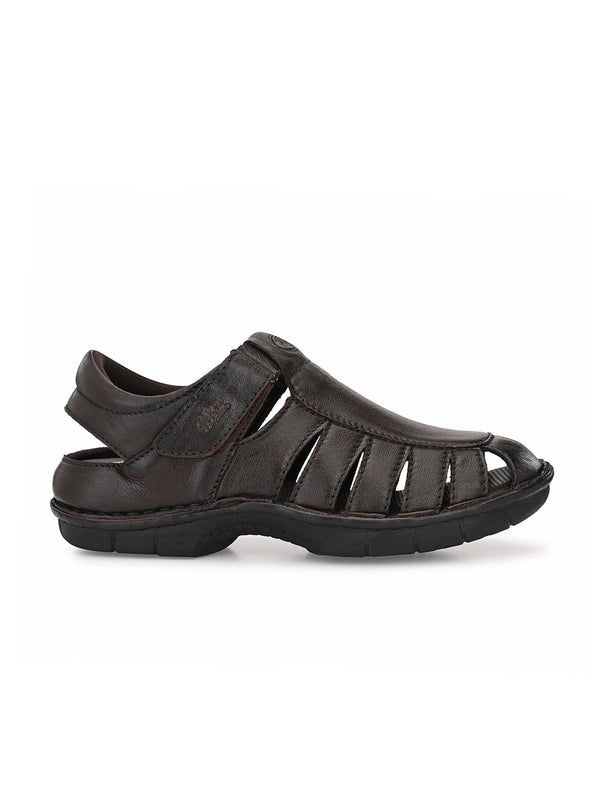 Hitz Mario Brown Sandals For Men