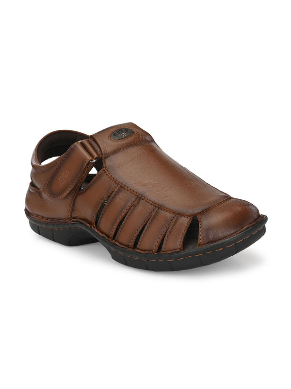 Hitz Mario Tan Sandals For Men