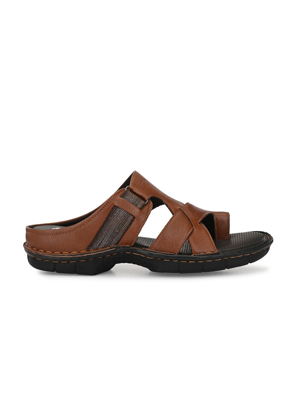 Hitz Romeo Tan Sandals For Men