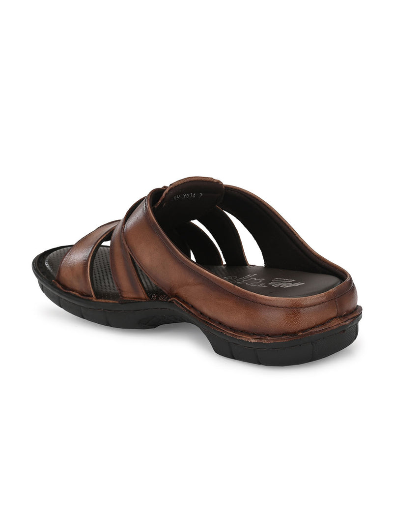 Hitz Roberto Brown Sandals For Men