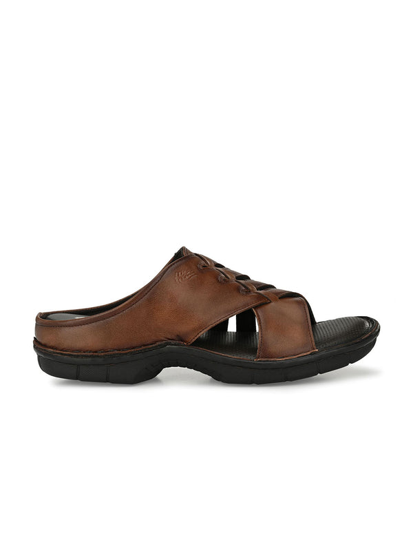 HITZ Ruslan Brown Sandals For Men