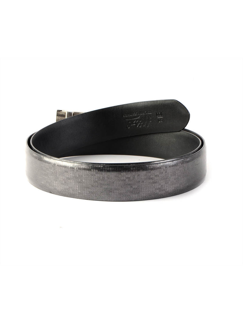 Al 901 Grey Leather  Belts