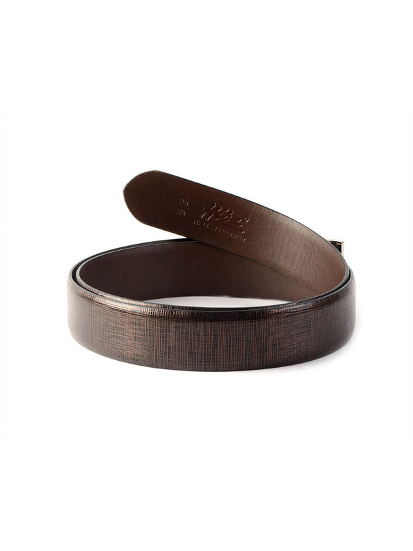 Al 9011 Brown Leather  Belts