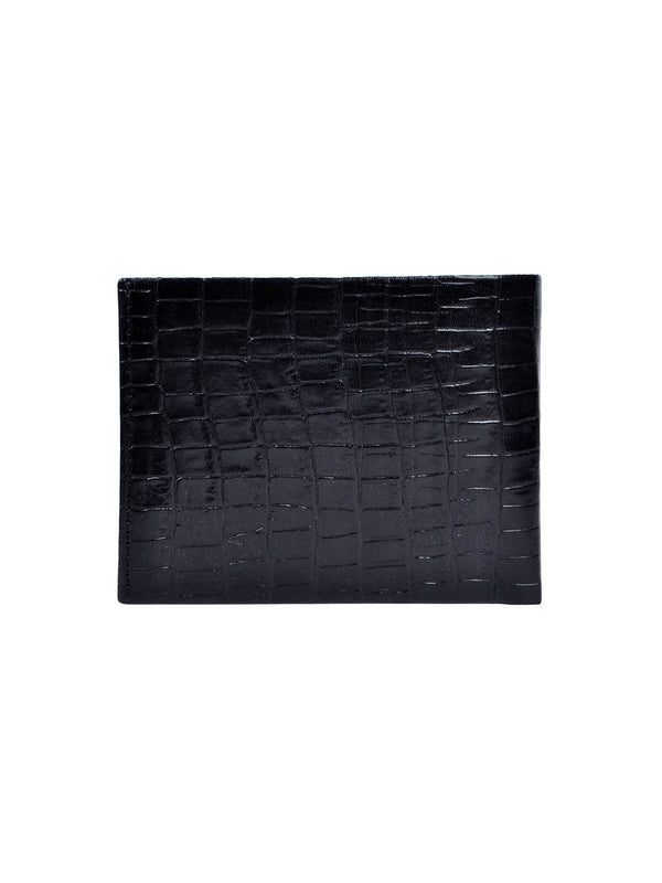 BAXTOR BLACK LEATHER WALLETS
