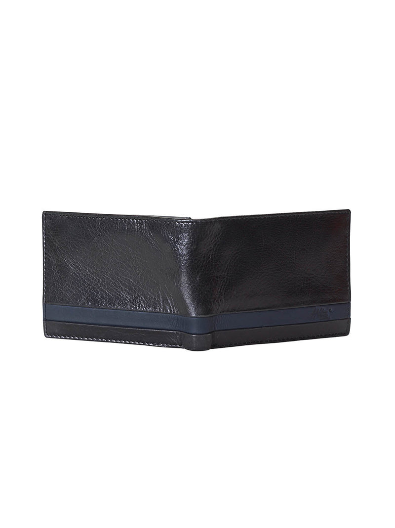 BS-3001D BLACK LEATHER WALLETS
