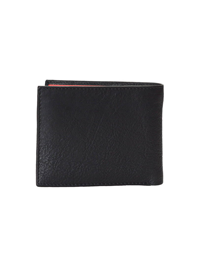 BS-3024 BLACK/TAN LEATHER WALLETS