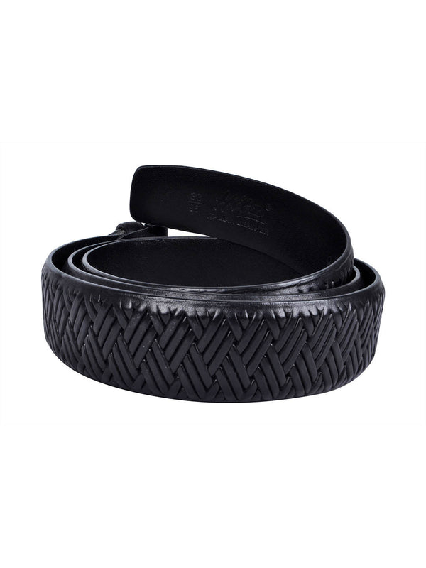 Bs 405 Black Leather Belts