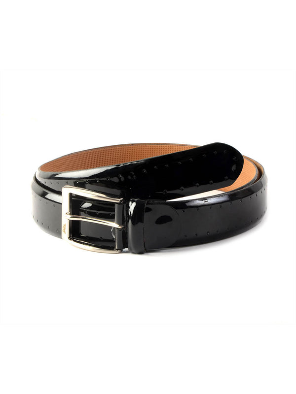 Cftd 02 Black Leather Belts