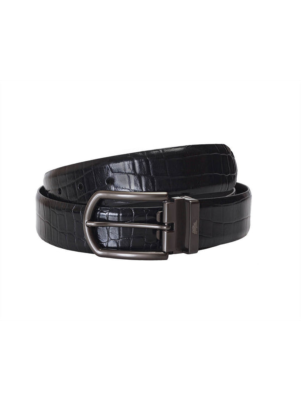 Cftd 111 Black Leather Belts