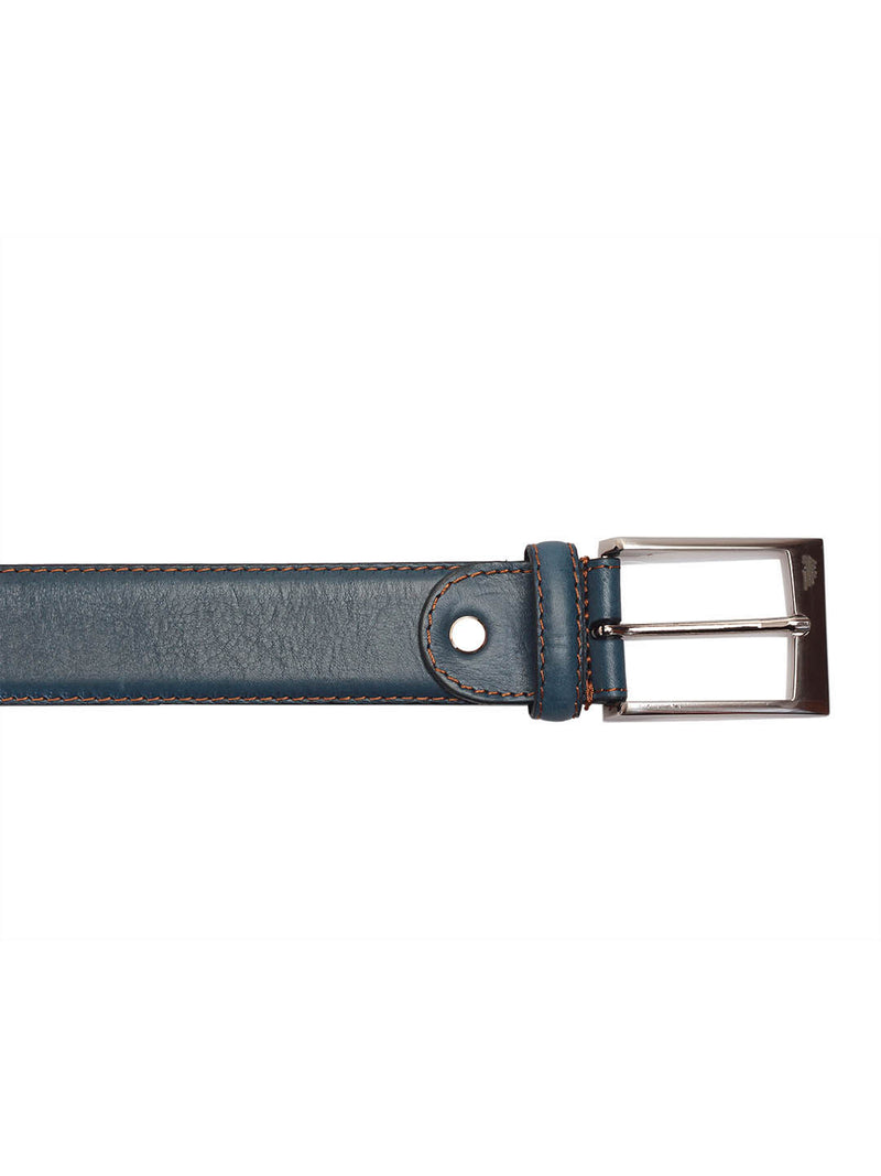 Cftd 162 Blue Leather Belts