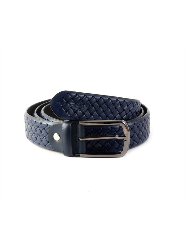 Cftd 24 Blue Leather Belts