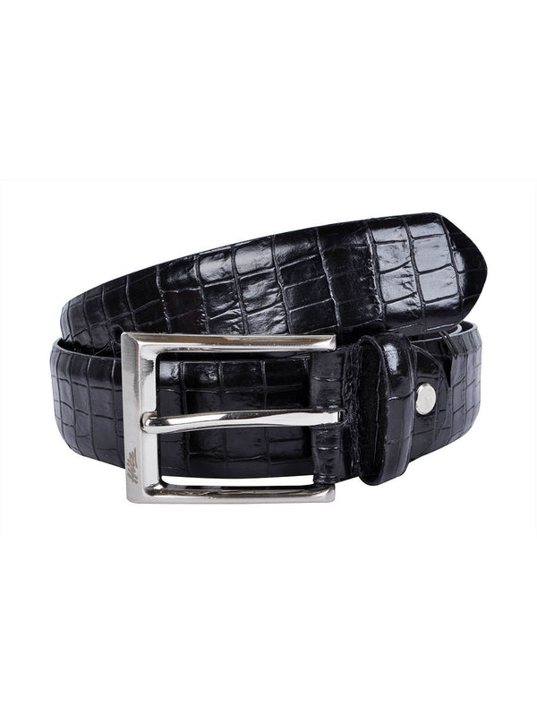 Cftd 187 Black Leather Belts