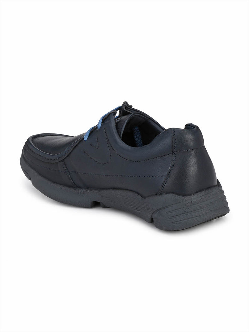Gf-284 Do 1 Blue Casual Leather Shoes