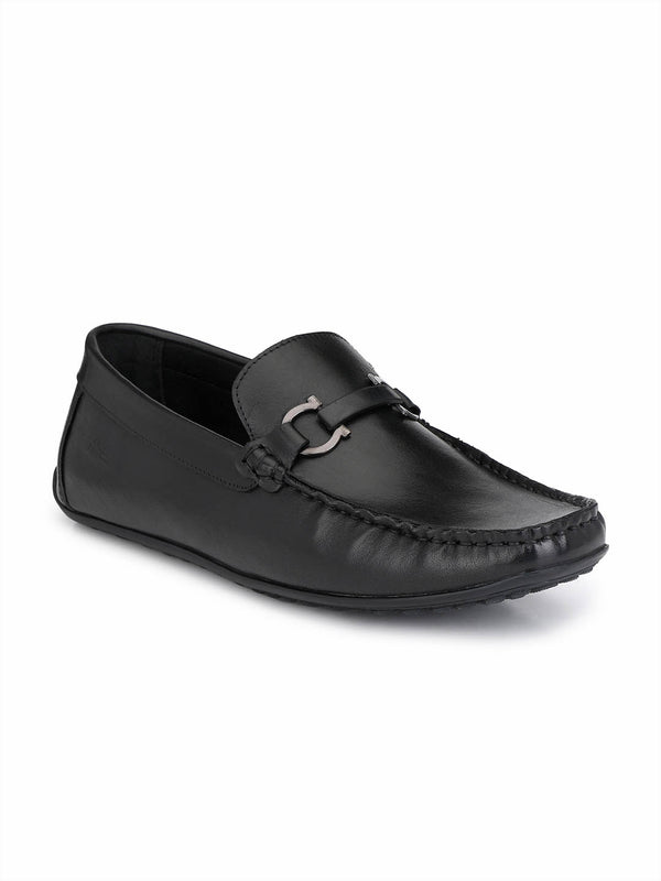 Flipy - F 2 Black Leather Loafers