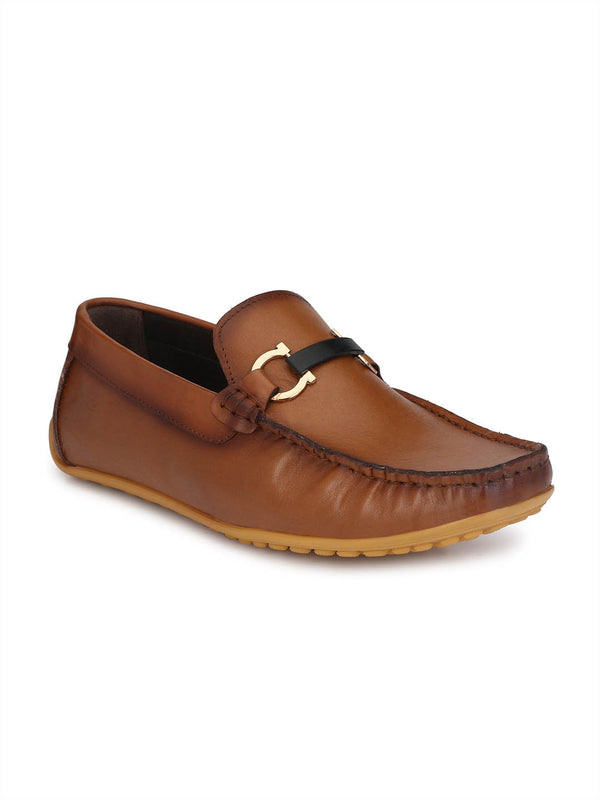 Flipy - F 2 Tan Leather Loafers