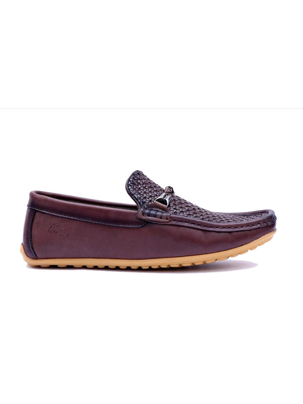 Flipy - F 4 Brown Leather Loafers