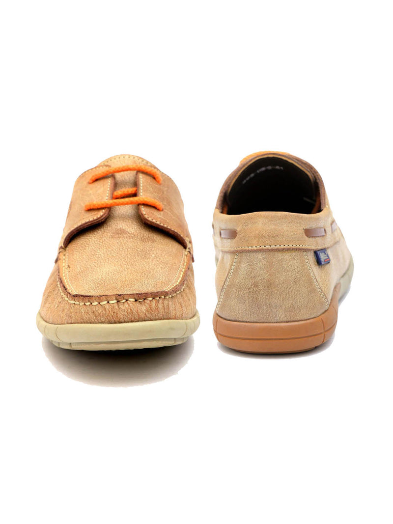Holyday - Ho 2 Beige Leather Loafers