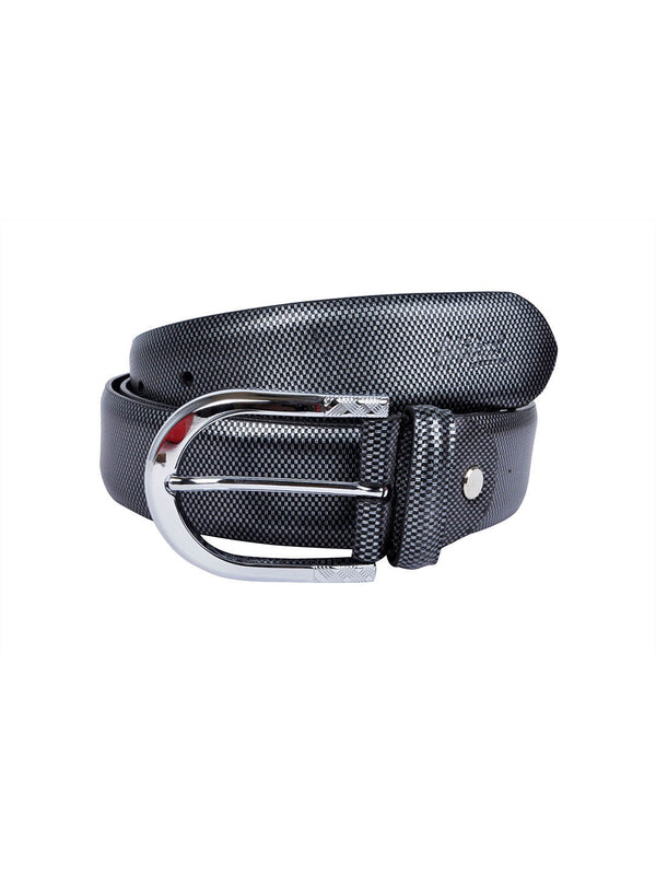 It 134 Grey Leather Belts