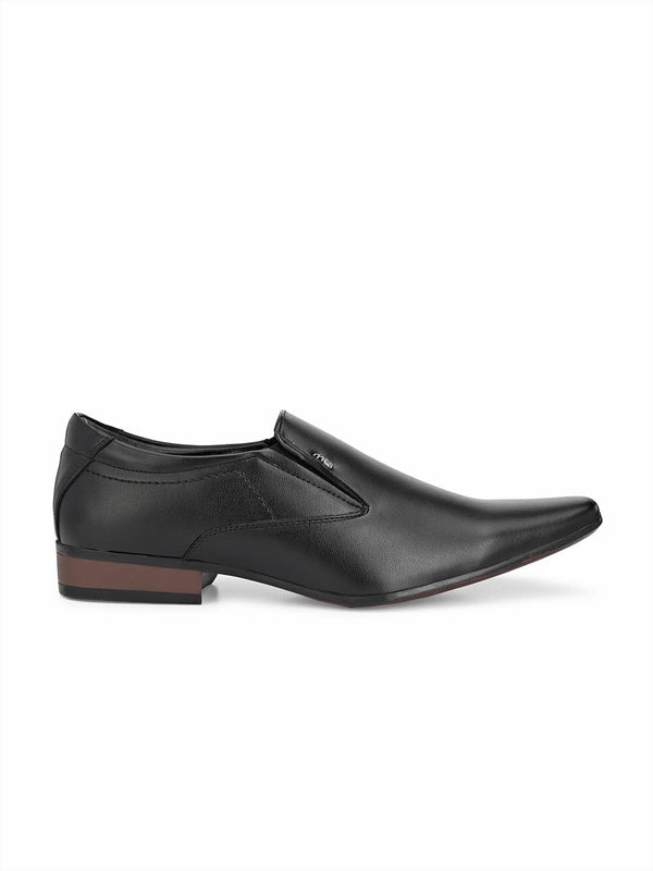 Mslp - 2906 Black Formal Shoes
