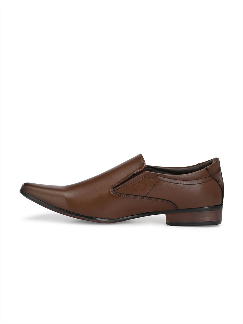 Mslp - 2906 Brown Formal Shoes
