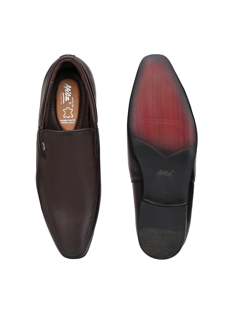 Hitz Kumoto Brown Formal For Men