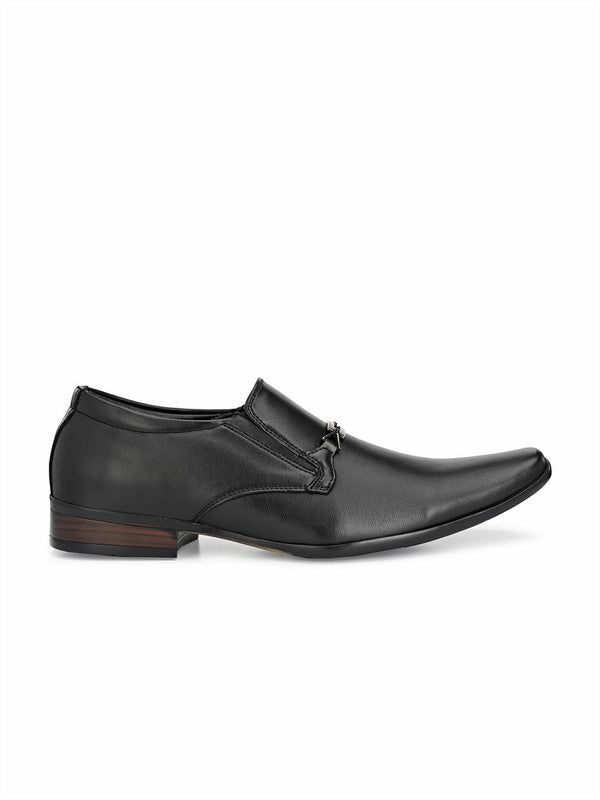Mslp - 8914 Black Formal Shoes